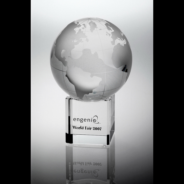 Personalized Revolution Globe Medium Award