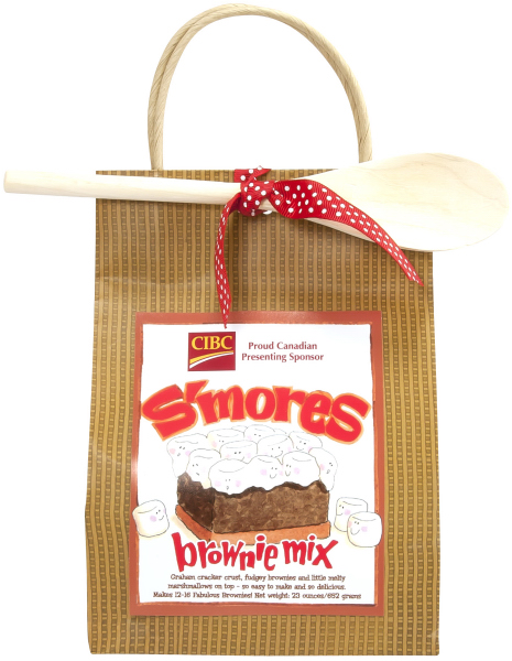 Imprinted S'Mores Brownie Mix