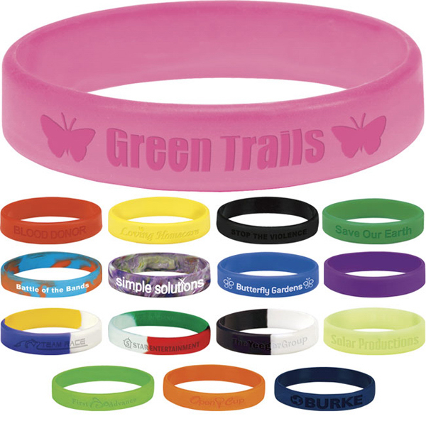 Customized Silicone Awareness Bracelet