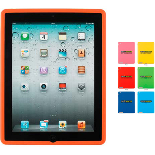 Customized Silicone Case for iPad 2 without cover