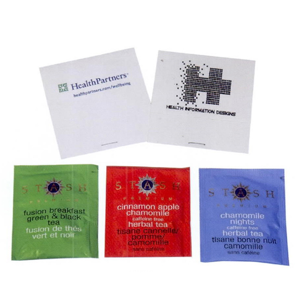 Personalized Single Gourmet Tea Packet