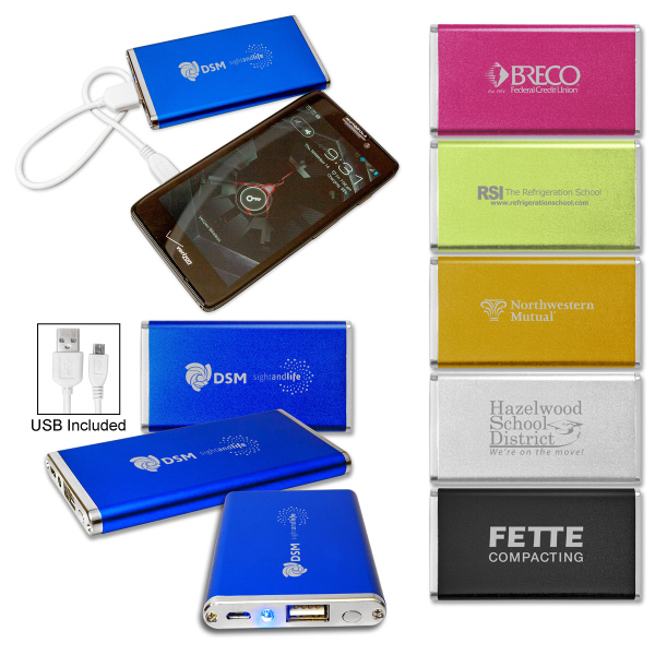 Personalized Slim Power Bank