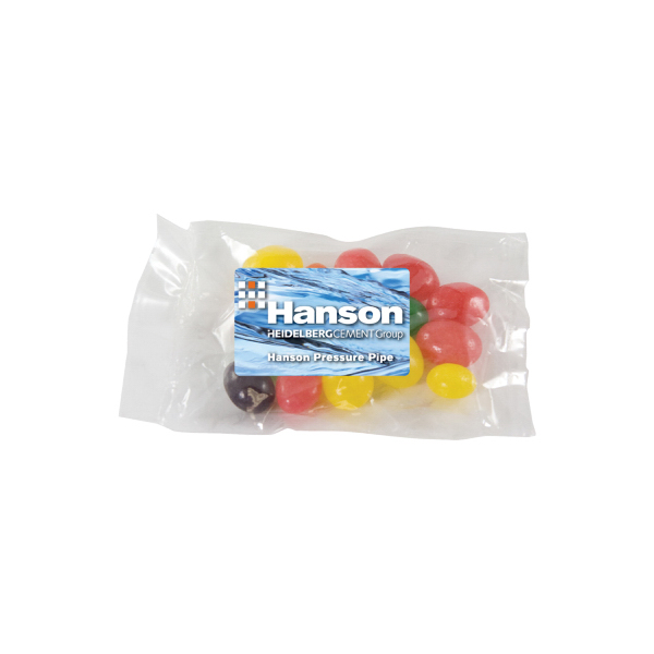 Promotional Small Promo Candy Bag with Jelly Beans -  Jelly Bean Candy