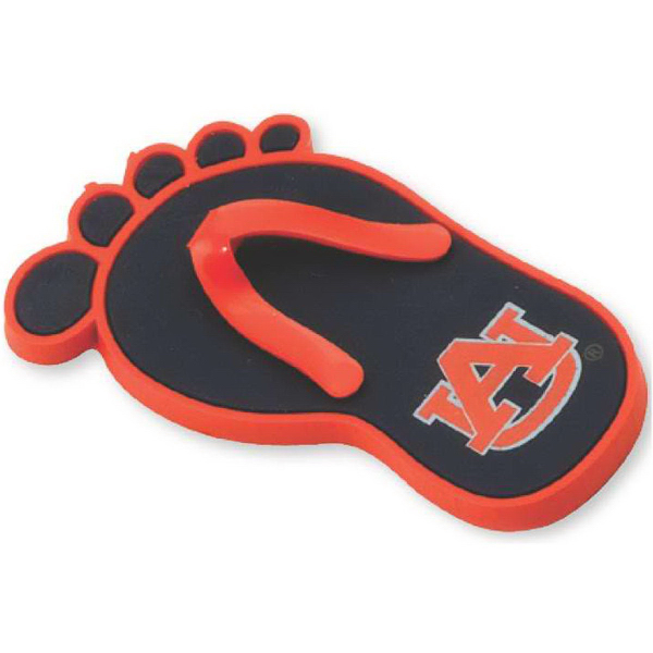 Customized Stock Soft Laser-Cut PVC Flip Flop Shaped Magnetz (TM)
