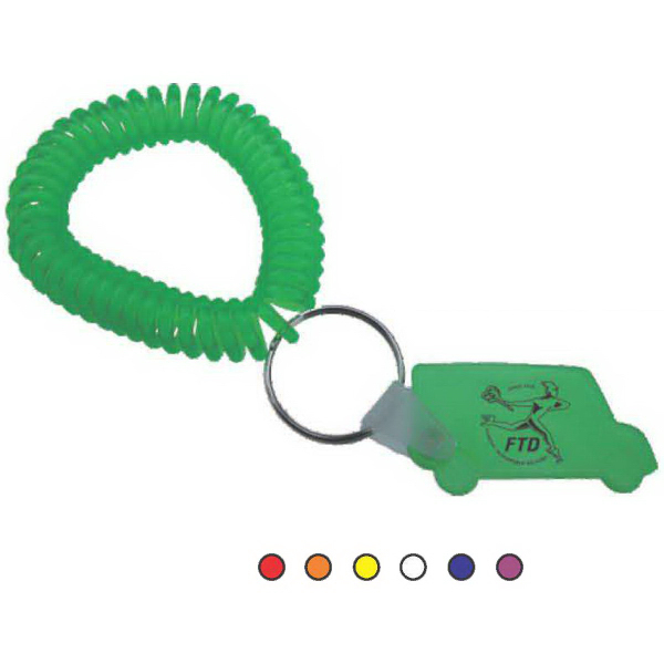 Printed Stretchable Wrist Coil with Truck Tag