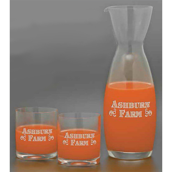Customized Sunshine Carafe 3 Piece Set