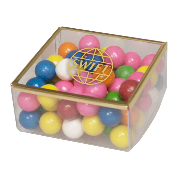 Imprinted Sweet Dreams with Gumballs  -Candy Box