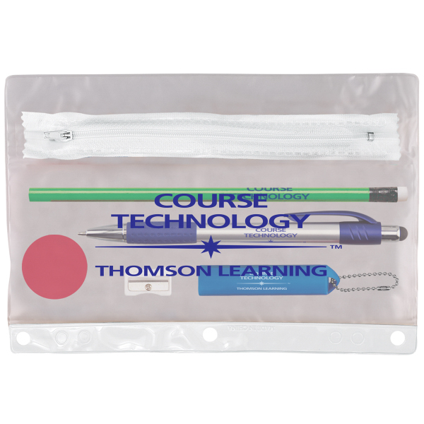Imprinted Tech Notebook Mate School Kit with Pencil Pouch