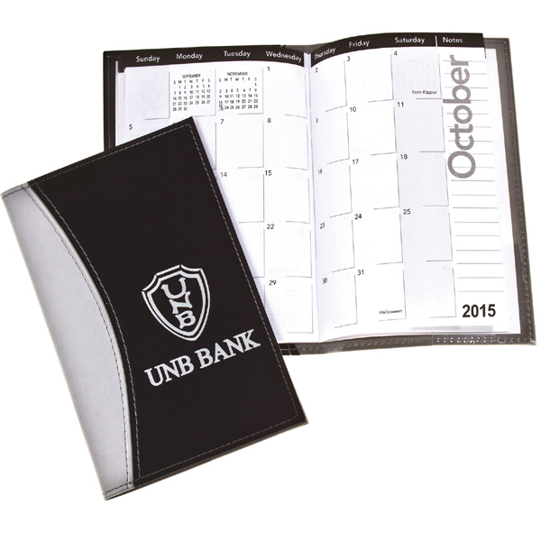Printed Techno-Style Monthly Pocket Planner