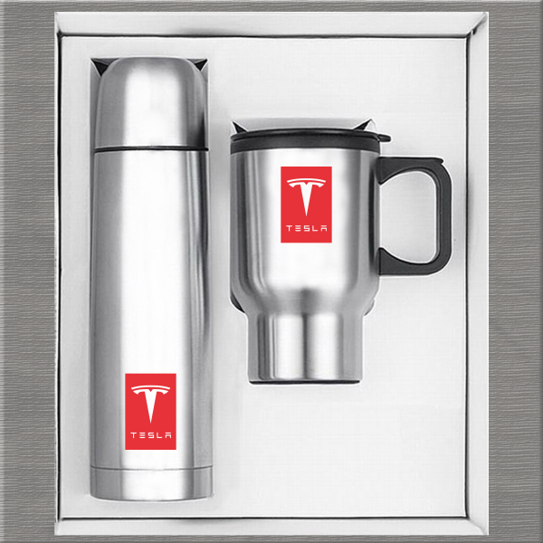Printed Thermos Mug Set #2