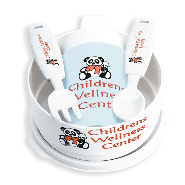 Imprinted Toddler Bowl Set