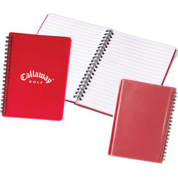 Promotional Translucent Notebook with Zip Pouch