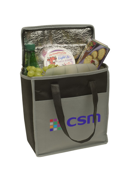 Printed Transport Small Non-Woven Cooler Tote
