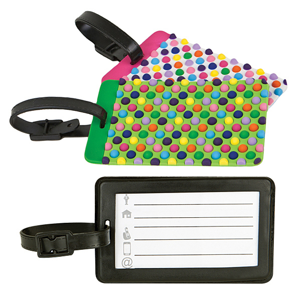 Promotional Travelon (R) Set of 2 Luggage Tags, Dots