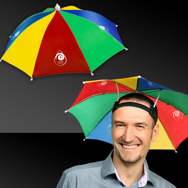 Imprinted Umbrella Hat