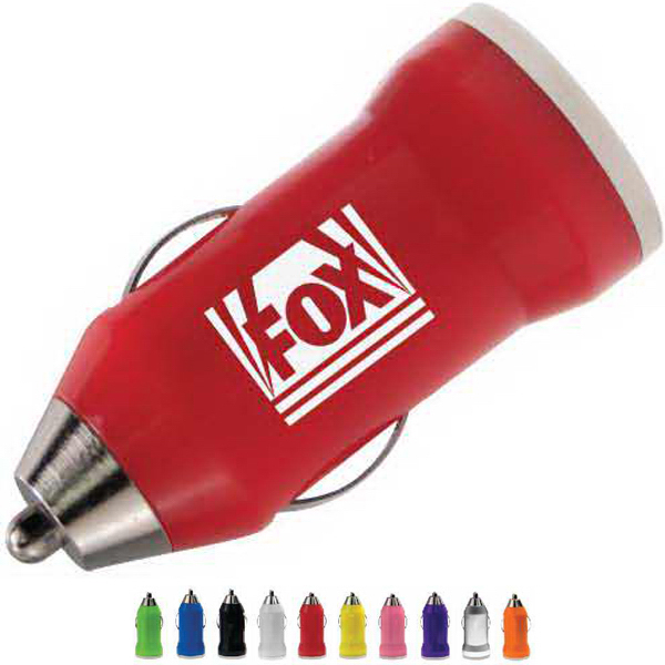Promotional USB Mini Car Charger - Car Power Adaptor