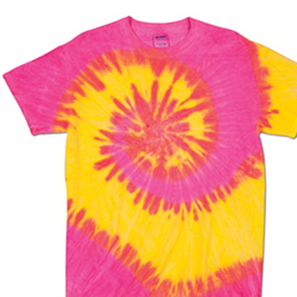 Customized Waves Tie Dye Tee