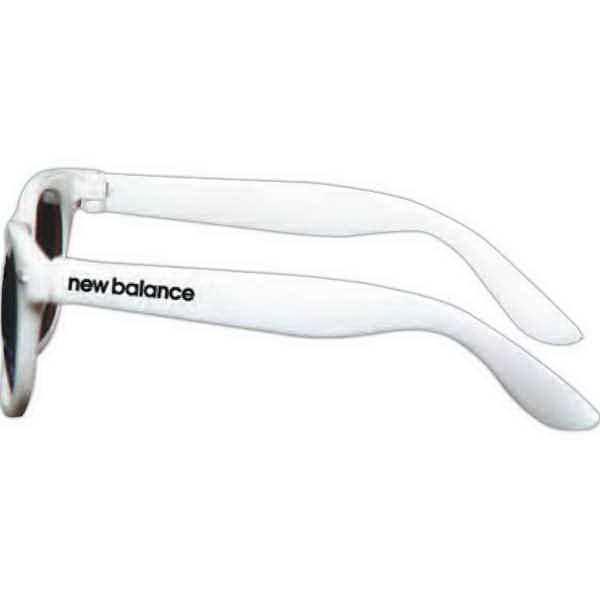 Personalized Wayfarer Sunglasses - White