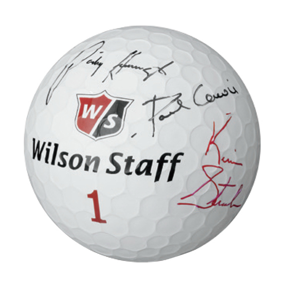 Customized Wilson (R) Staff Jumbo Golf Ball