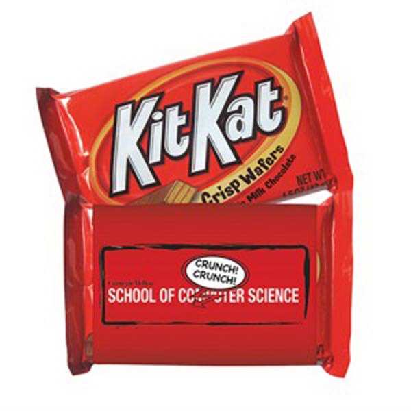 Promotional Wrapped Kit Kat Bar